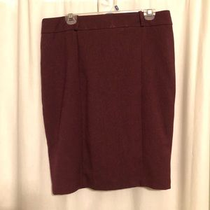 Massimo by Target Maroon Skirt—Size 14
